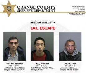 OC Prison Escape Poster