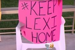 keep lexi home poster, via CBS screengrab