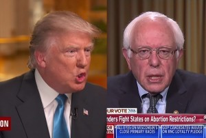bernie and the donald