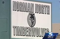 norman north high school, screengrab via KOCO