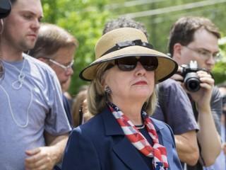 Clinton Hillary glasses