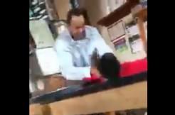 teacher attacks student at milwaukee high school, screengrab via YouTube