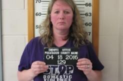 Emily Wilson mugshot via Piscataquis County Sheriffs Office