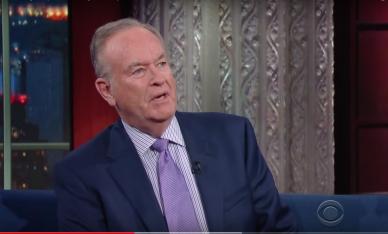 Bill O'Reilly screengrab via CBS