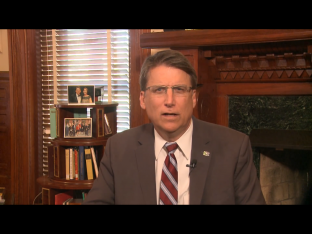 Gov McCrory via screengrab