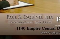 Paul Esquivel law firm logo via Paul A. Esquivel PLLC screengrab