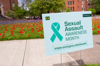 sexual assault awareness via shutterstock