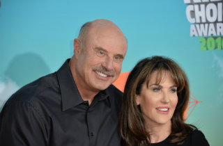 Dr Phil & Robin McGraw (Shutterstock)