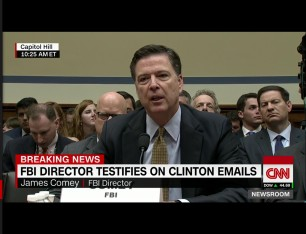 Dir Comey via screengrab