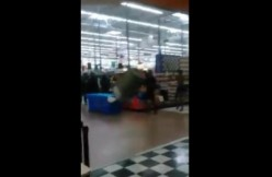 Gates Walmart Brawl via Facebook screengrab