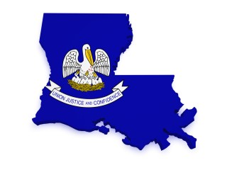 Image of Louisiana via Shutterstock