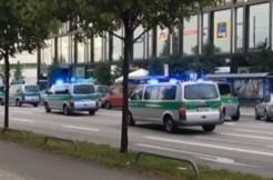 Munich Attack screengrab via France 24 video