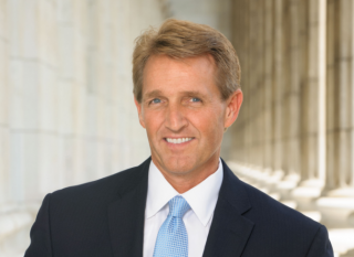 Image of Jeff Flake via U.S. Senate