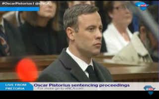 Image of Oscar Pistorius via eNews Channel Africa