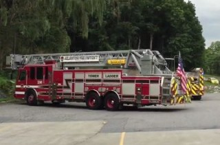 Image of fire truck via Poughkeepsie Journal