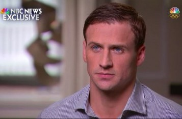 Image of Ryan Lochte via NBC