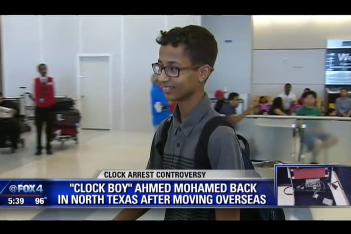 Clock Boy via screengrab