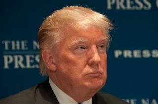 Trump via shutterstock