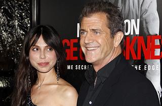 Mel Gibson & Oksana Grigorieva (Shutterstock)
