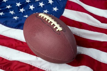 football us flag shutterstick