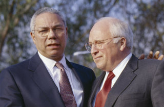 colin-powell-dick-cheney-shutterstock