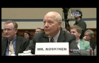Image of John Koskinen via screengrab