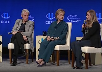 Clinton Foundation via screengrab