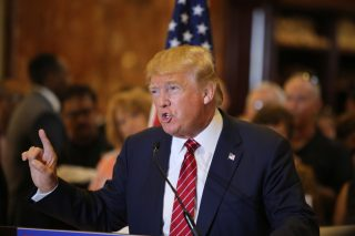 Donald Trump via a katz/Shutterstock