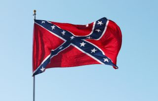 confederate-flag via shutterstock