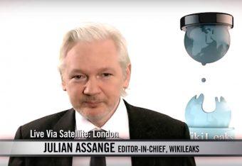 Julian Assange via screengrab