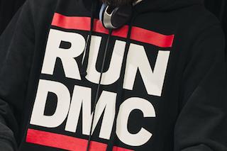 Run-DMC sweatshirt (Shitterstock)