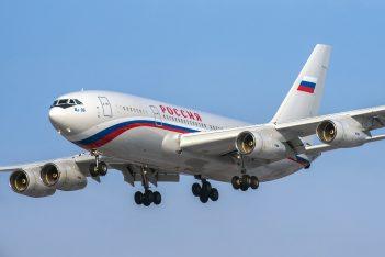russian plane via Andrey Khachatryan / Shutterstock.com