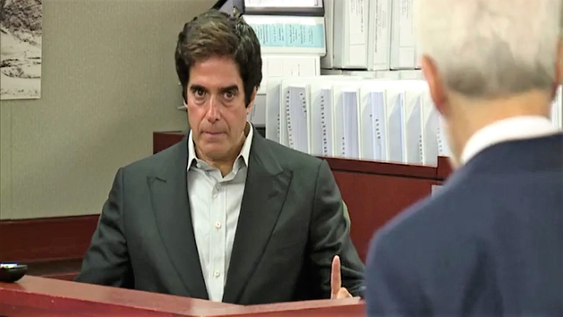 Magician David Copperfield, Witness, Trial, Civil Case, Court, Testify, Testifies