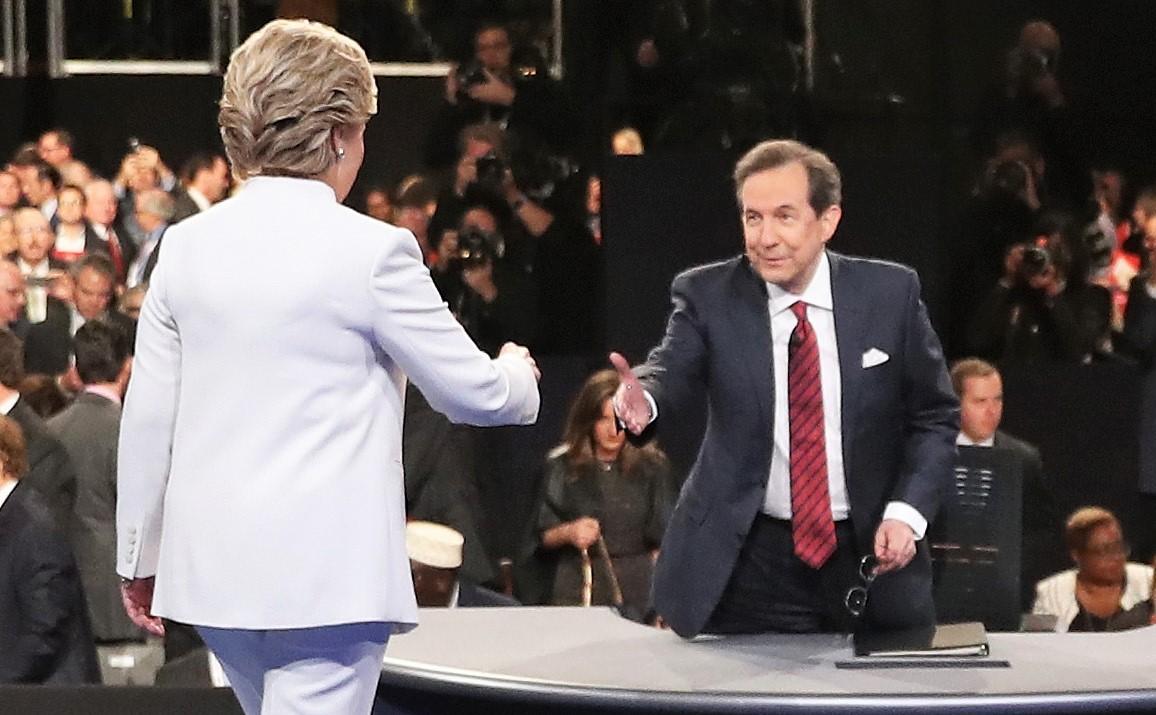 Hillary Clinton 2016 Debate Chris Wallace Las Vegas
