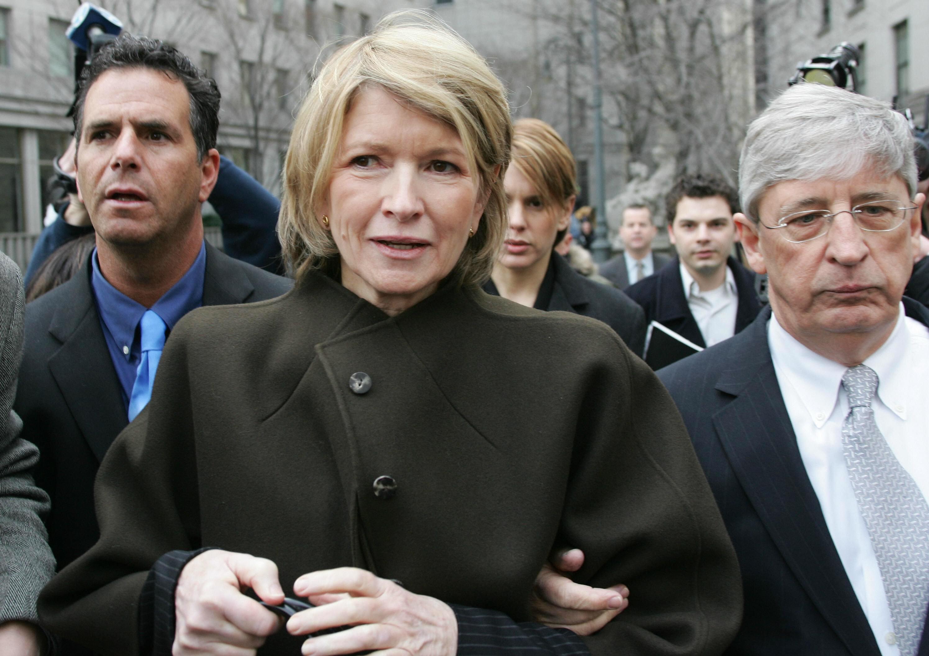 Martha Stewart Criminal Trial Appeal Insider Trading Scandal