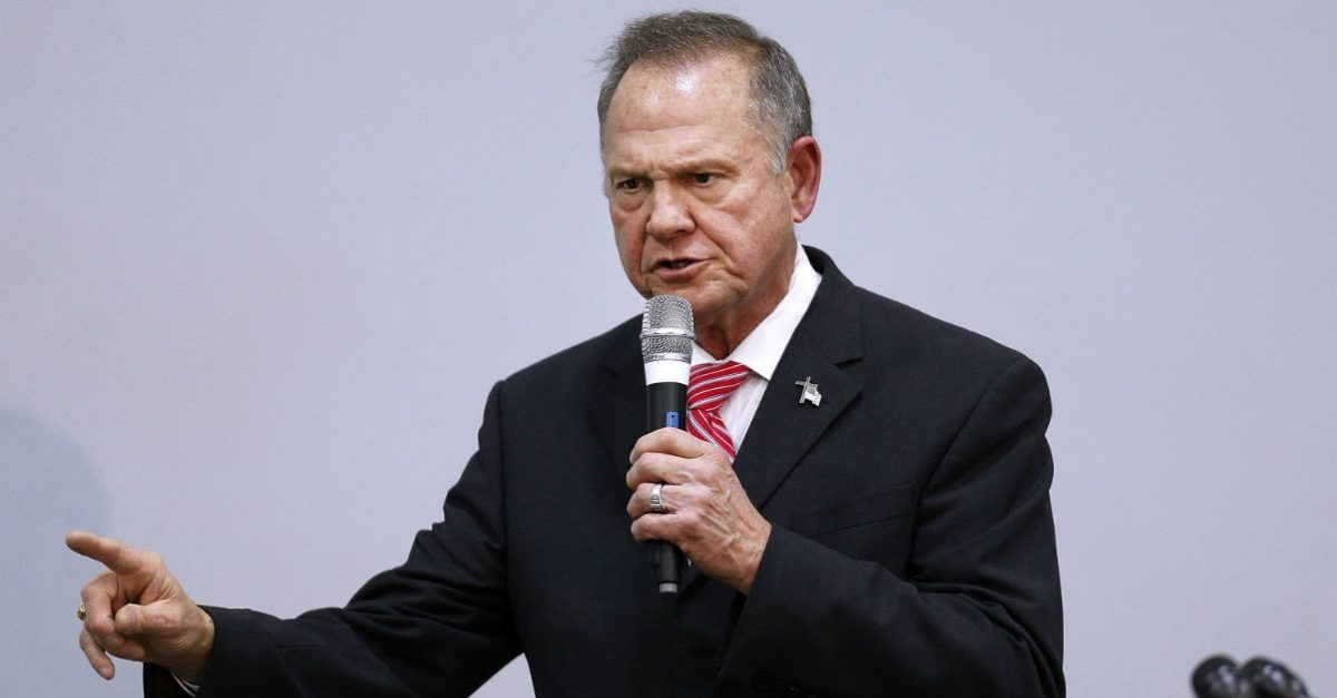 Roy Moore lawsuit Roy Moore political conspiracy