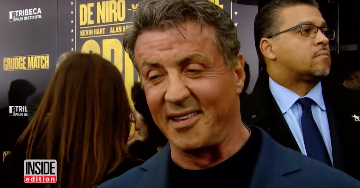 Donald Trump Jack Johnson pardon Sylvester Stallone phone call