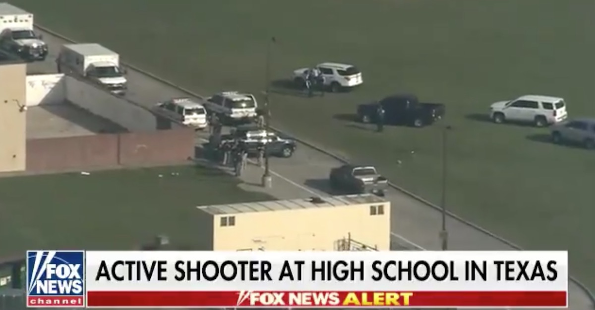 Santa Fe School shooting Texas