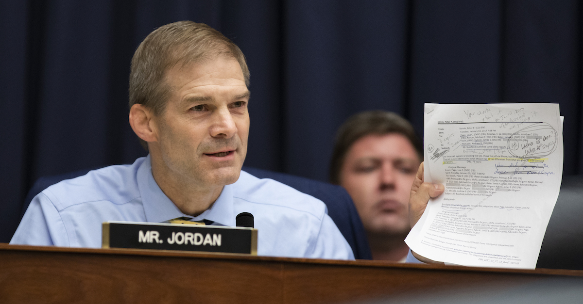 Multiple Former OSU Wrestlers Say Jim Jordan Knew About Sexual Abuse, Did Nothing to Stop It