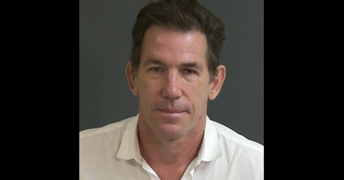 Thomas Ravenel mugshot Charleston County Sheriff's Office