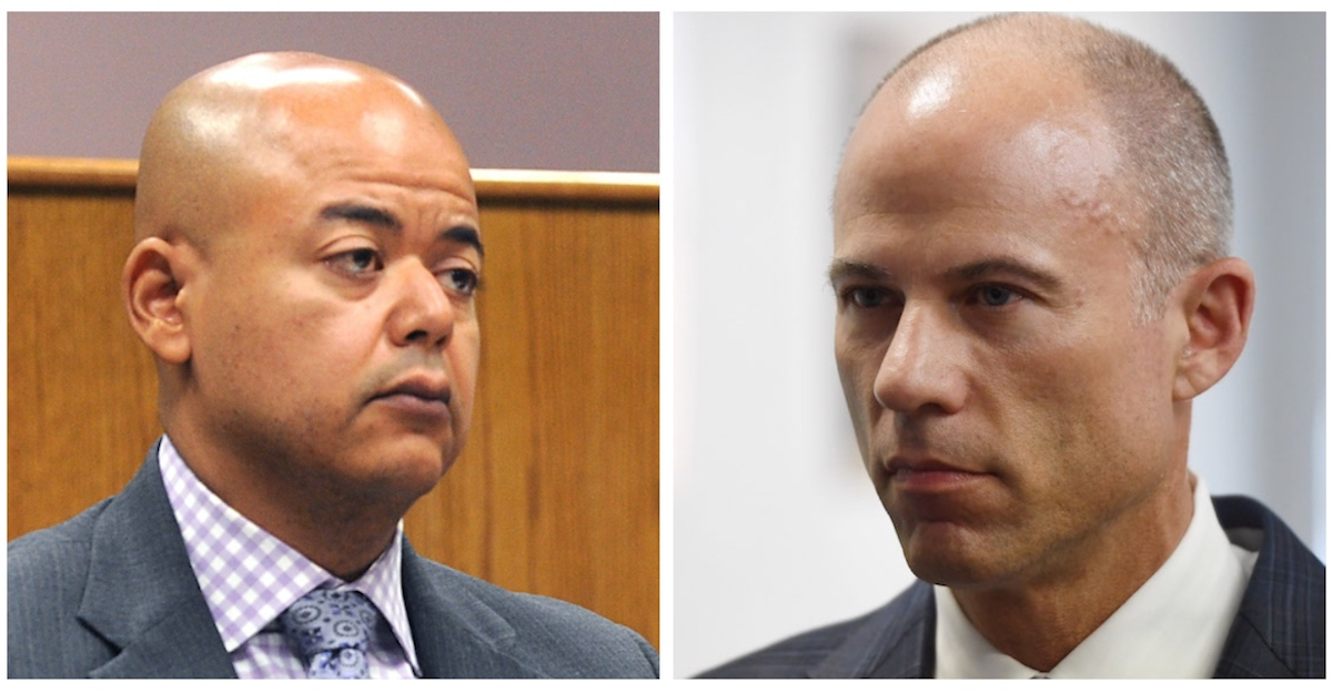Michael Avenatti and Malcolm LaVergne