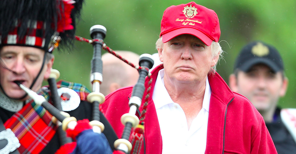 Scottish MP Suggests President Trump Is 'Involved in Serious Crime.' Eric Trump Says That's 'Libelous.'