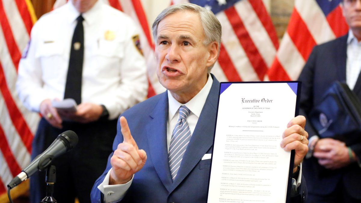 Judge blocks Texas governor's order limiting number of ballot drop-off sites