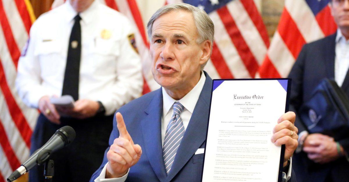 Texas Gov. Greg Abbott COVID-19 Executive Order