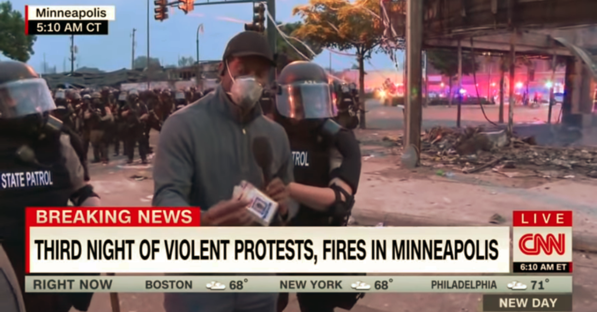 CNN correspondent Omar Jimenez arrested
