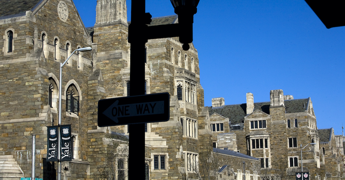 DOJ Determines Yale Racially Discriminated Against Whites And Asians In Admissions