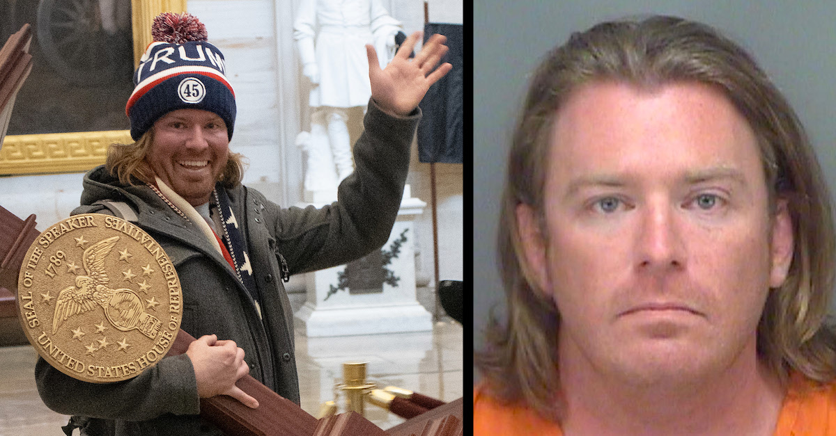 Man seen carrying Nancy Pelosi's lectern during Capitol riot arrested in Florida