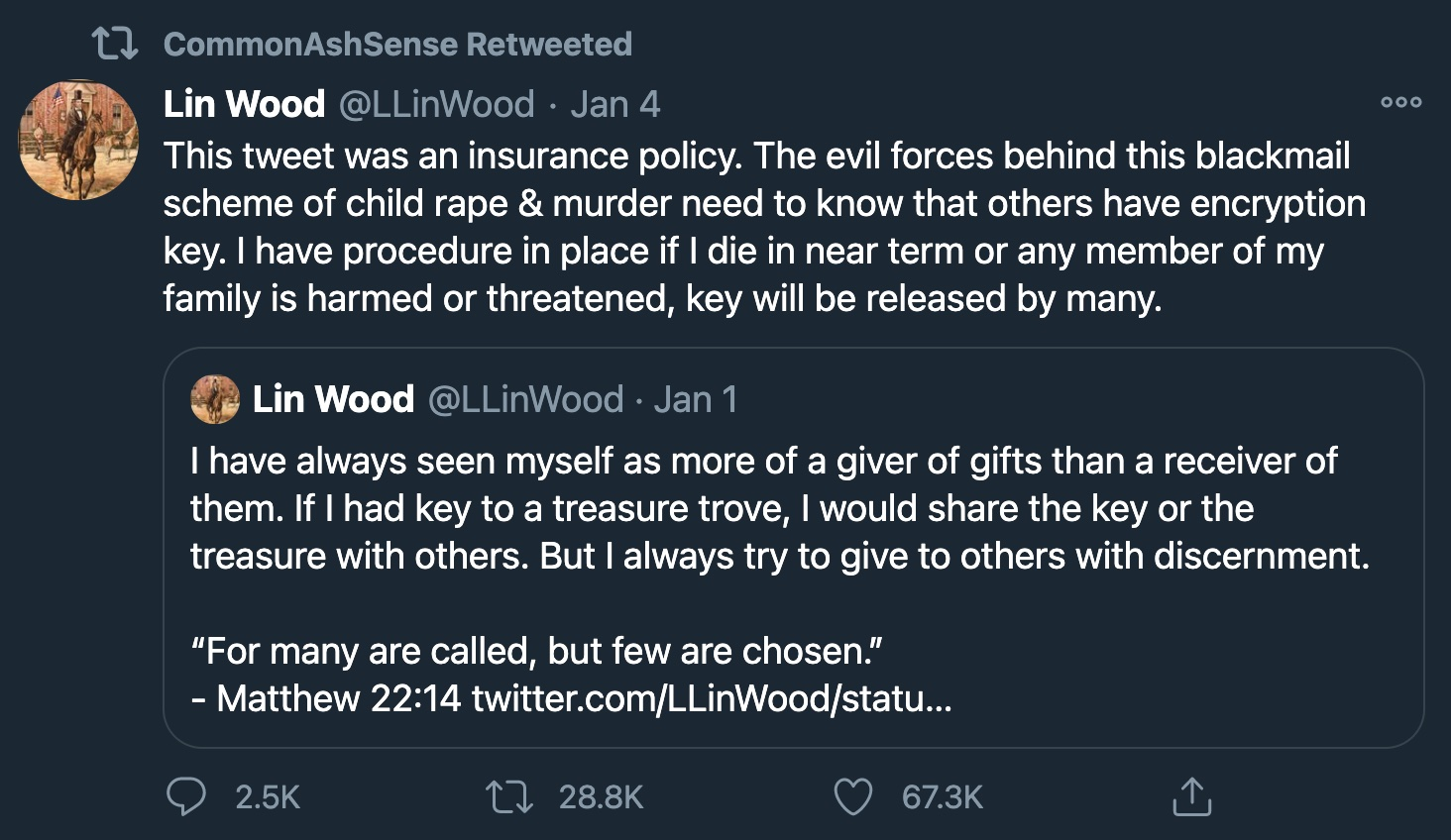 Ashli Babbitt Retweeted Lin Wood the Day She Died | Law&Crime