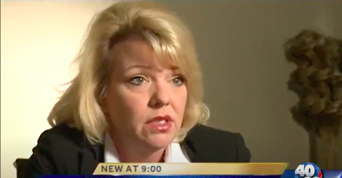 screengrab of interview with HB1570's Lead Sponsor Rep. Robin Lundstrum