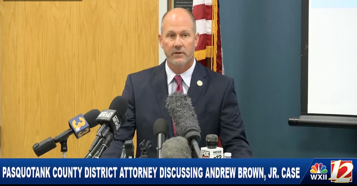District Attorney Andrew Womble